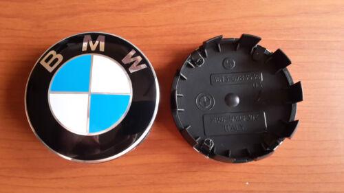 X1 COPRIMOZZO BORCHIA TAPPO BMW 68MM COPRIMOZZI BORCHIE TAPPI BMW 68MM E36 E46 E