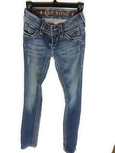 taille Jeans Straight Rock Chrissie 34 Revival qE77x5wa6