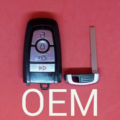 M3N-A2C93142300 OEM 2017 Ford F-Series PEPS 1-Way 3B Smart Key FCC
