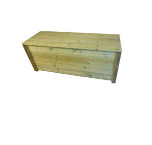 Phenomenal Details About Wooden Garden Storage Bench Removable Waterproof Lid Storage Box Caraccident5 Cool Chair Designs And Ideas Caraccident5Info