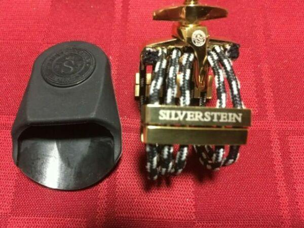Silverstein Works CRYO4 GOLD LIGATURE LQ07B CLARINET MEDIUM OR ALTO SAX SMALL 7