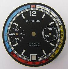 Valjoux 7734 Zifferblatt GLOBUS, NOS swiss made