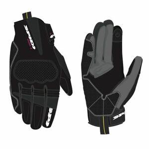 SPIDI-CHARME-2-CE-LADIES-BLACK-LEATHER-MOTORCYCLE-MOTORBIKE-BIKE-GLOVES