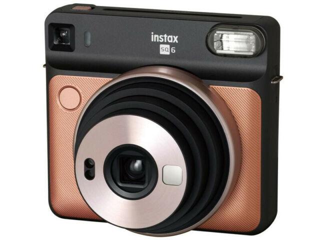Fujifilm fotocamera istantanea Instax SQ 6 Gold