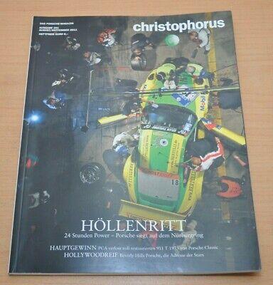 Hell Porsche Christophorus Nr. 351 Magazin 08/11 911 T