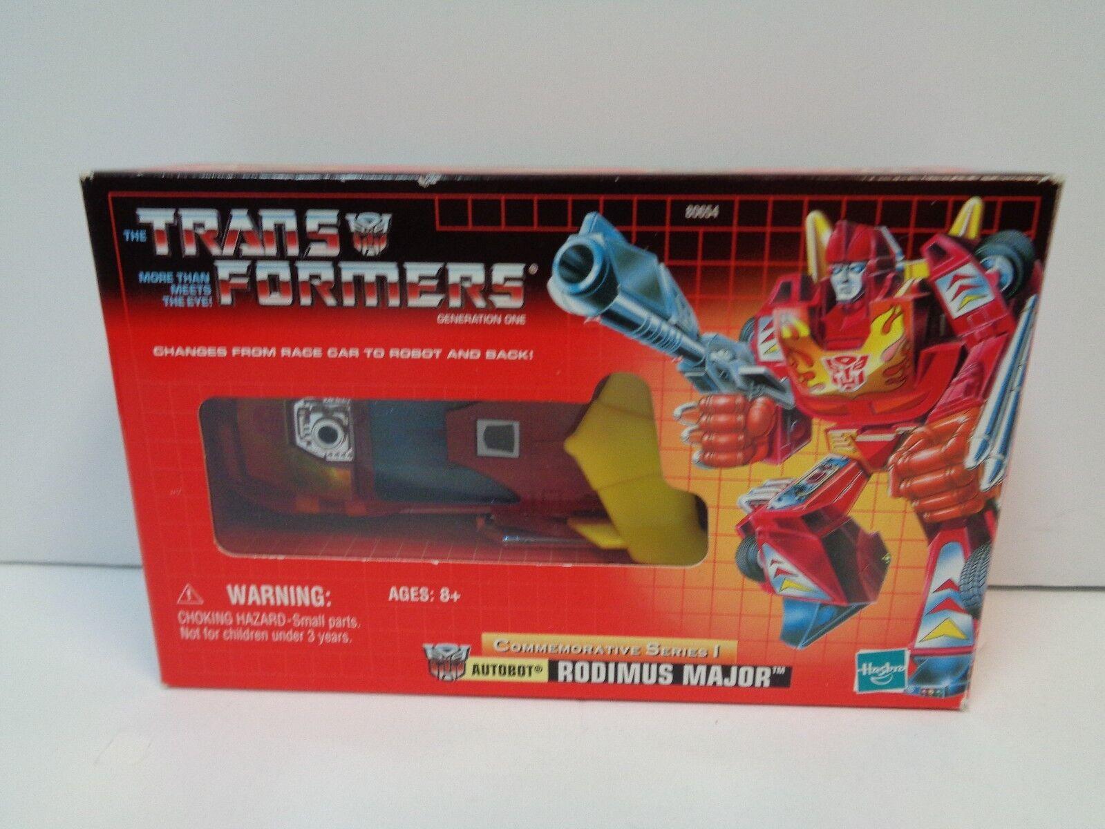 Transformers RODIMUS MAJOR AUTOBOT Classic Re-Issue MIB Commemorative Series I