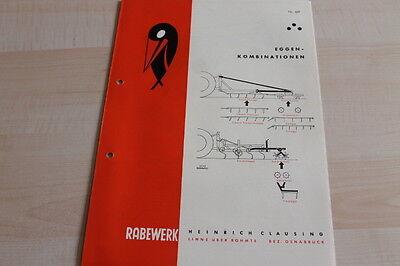 Lovely 144559 Rabewerk Prospekt 02/1962 Eggenkombination