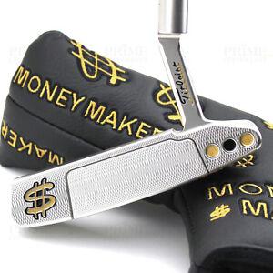 CUSTOM-2018-Titleist-Scotty-Cameron-NEWPORT-2-GOLD-CASH-Edition-Golf-Putter