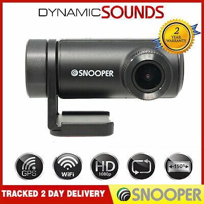 Snooper DVR-WF1 HD Recording Truck / Car Dash Cam Camera WiFi 1080p