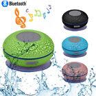 Subwoofer Portable Shower Waterproof Hands Free Car Bluetooth Wireless Speaker