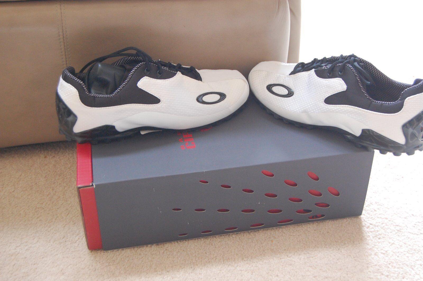 Scarpe casual da uomo NEW Oakley CIPHER   Golf Shoe  SZ 9 W White Oakley CIPHER