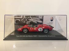 Maserati Tipo 63 24h du Mans 1961 - Vaccarella Scarfiotti Scale 1:43 New
