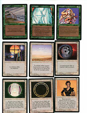 Magic the Gathering WOTC French Revised Limited Black Mint Unplayed 9 card lot