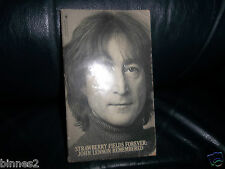 THE BEATLES JOHN LENNON REMEMBERED STRAWBERRY FIELDS FOREVER PAPERBACK BOOK