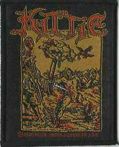 KITTIE-woodcutter-2001-WOVEN-SEW-ON-PATCH-official-merchandise-no-longer-made