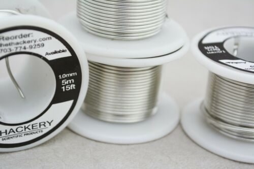 1mm thickness US SELLER 5m//15FT ROLL Sn99.3Cu0.7 Solder Wire w// Flux Core