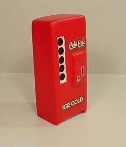 Cola Machine Custom Generic Miniature 1/24 Scale G Scale Diorama Accessory Item