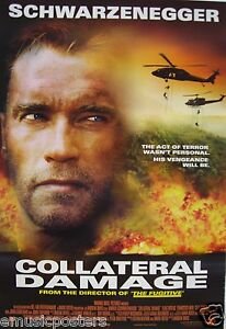 Image Is Loading ARNOLD SCHWARZENEGGER 034 COLLATERAL DAMAGE MOVIE POSTER