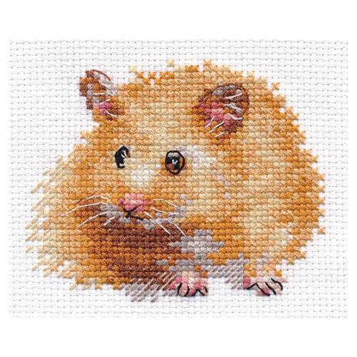 Alisa Cross Stitch Kit Hamster