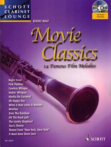 Schott-Clarinet-Lounge-Movie-Classics-Klarinette-Play-Along-Noten-CD-Rudolf-Mauz