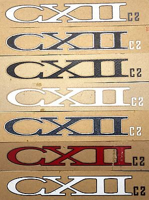 Genuine NOS Serotta CX II Ultra Thin Bike Frame Decals OEM Multiple Colors