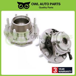 Front-Wheel-Bearing-Hub-03-04-Ford-F-250-F-350-Super-Duty-SRW-Fine-Thread-515056