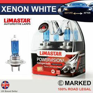 Civic-15-on-FK2-Type-R-Xenon-White-H7-Halogen-High-Beam-Bulbs-6000k-PAIR