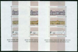 3-x-Bund-Block-Nr-20-sauber-postfrisch-BRD-1287-1289-Block-aus-1986-MNH