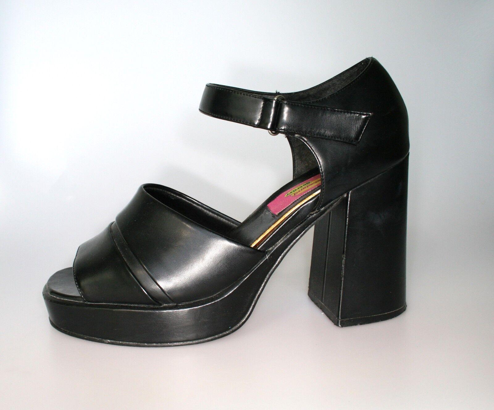 GRACELAND GO GO GO PARTY Schuhe sz. 41 plateau 90s vintage WOW b6a3e3