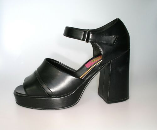 Sz 41 '90 Go anni Party Vintage Plateau Shoes Wow Graceland qtRaw