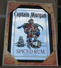 Mirror Captain Morgan Spiced Rum pub/bar, mancave, home decoration