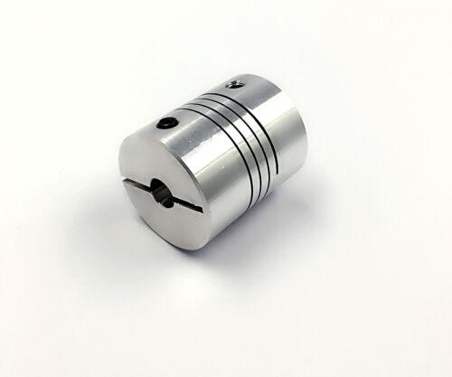 1 of  DR6.35*6.35mm CNC Stepper Motor Flexible Coupling Coupler D20*L25