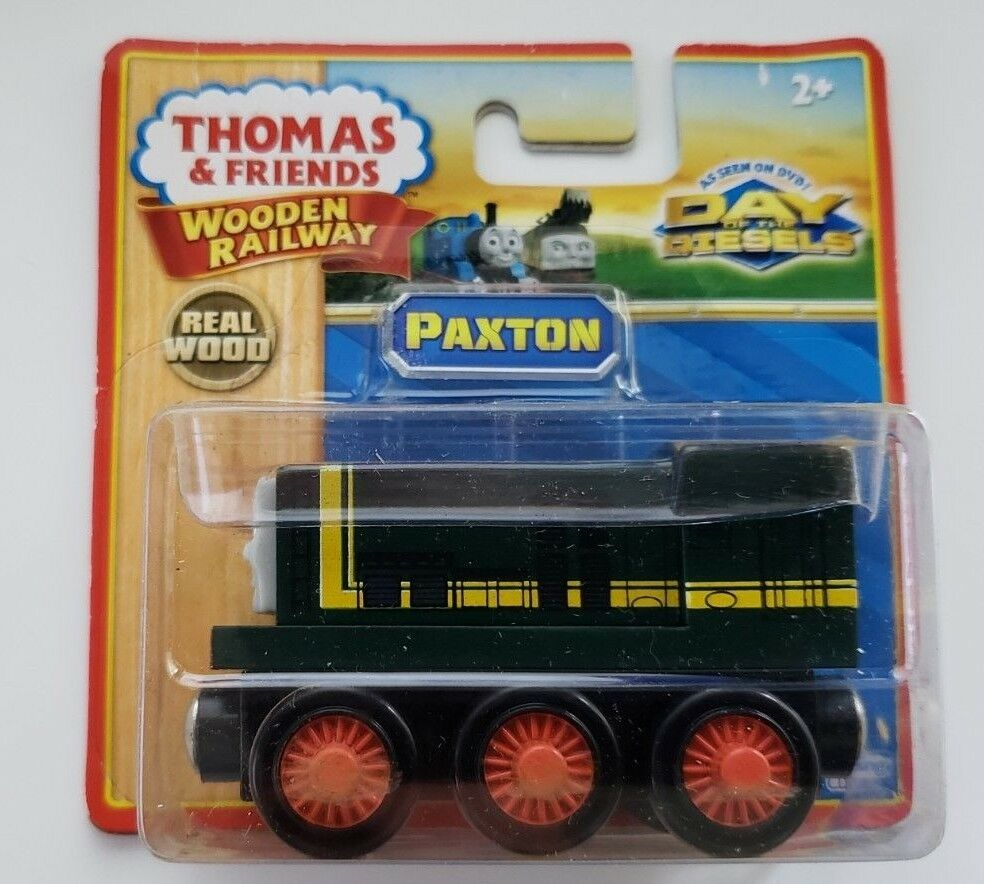 THOMAS & FRIENDS WOODEN RAILWAY 2011 2011 2011 PAXTON LC98137 RARE RED WHEELS NEW IN BOX 9d8fa7