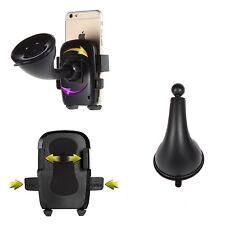 Auto KFZ Handy Halterung PKW LKW 360 drehebar Frontscheibe Halter Universal Gelb