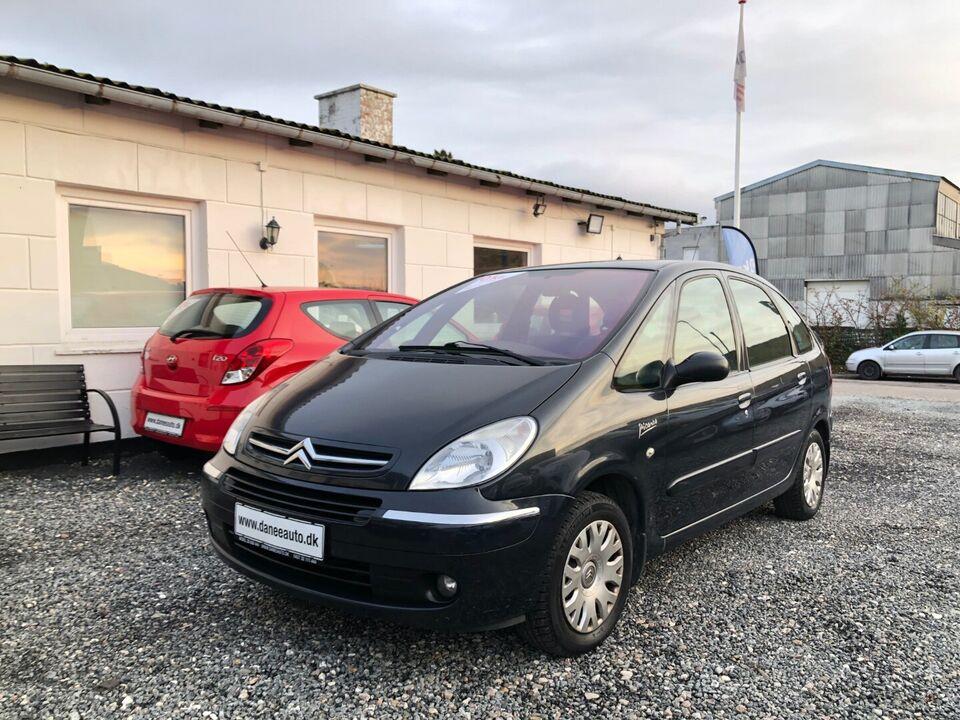 Citroën Xsara Picasso 1,6i 8V 95 Advance Benzin modelår