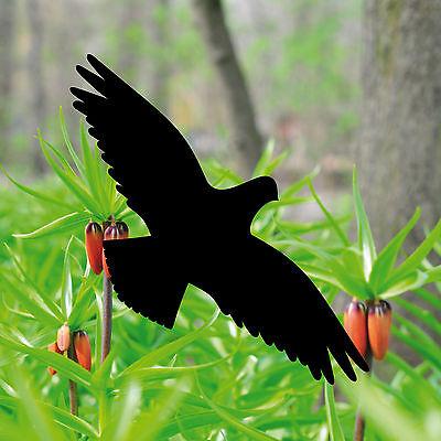2 Aufkleber 20cm weiß Vogel Fenster Tattoo Warnvögel Vogelschutz Vogelschreck