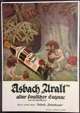 Asbach Uralt,alter deutscher Gognac,Rüdesheim a.Rhein,orig.Anzeige 1918