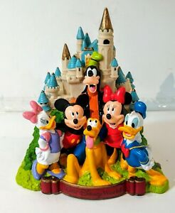 Walt-Disney-World-Castle-Coin-Bank-Mickey-Mouse-Excellent-Vintage-Rare