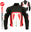miniature 43 - Leather Motorbike Motorcycle Jacket With CE Armour Sports Racing Biker Thermal