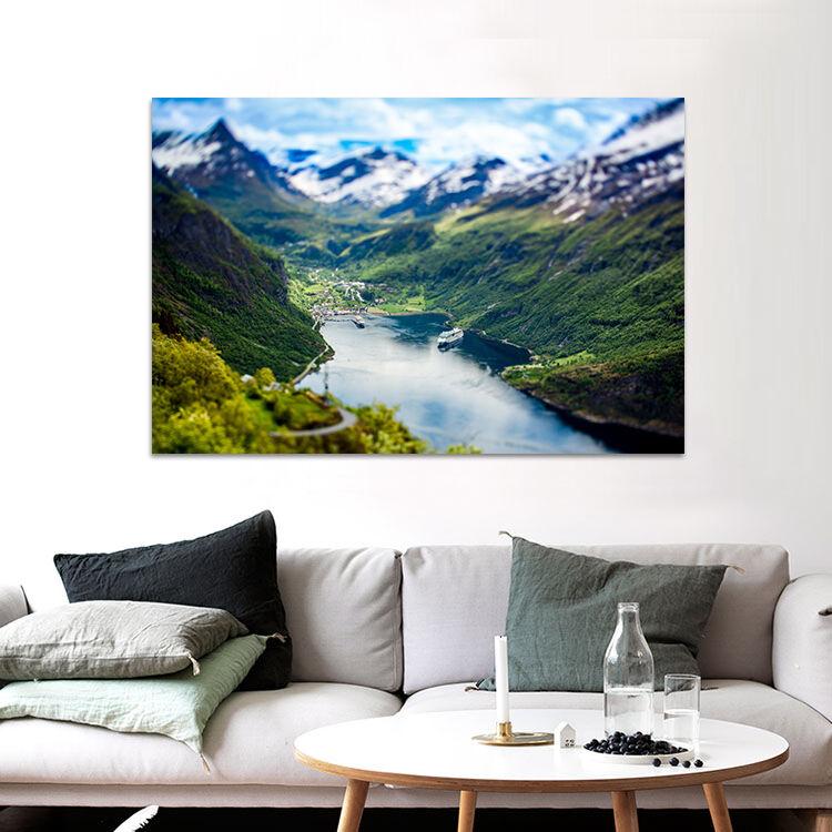 3D Gletscher Aoyama 8674  Fototapeten Wandbild BildTapete AJSTORE DE Lemon