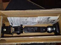 Global Led Flat Panel Monitor Arm - Black