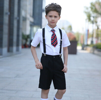 Livingston Adjustable Elastic Suspenders for Children Boys Kids Assorted Colors