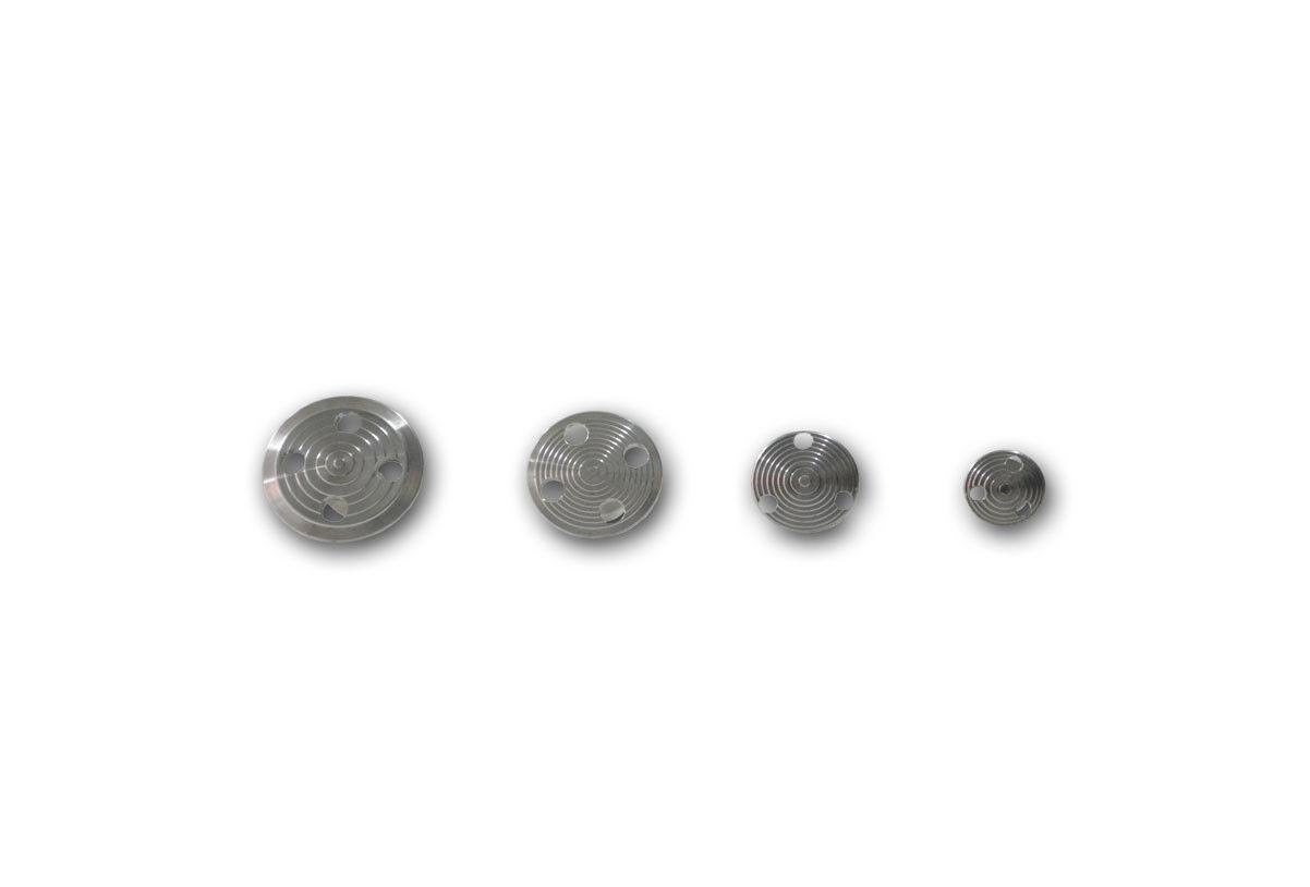 4 Hail PDR Paintless Puller Dent Repair Aluminum Glue Puller Paintless Tabs 1815de