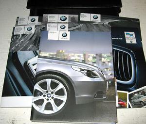 2005 bmw 525i 530i owners manual set 05 525 530 w case ebay rh ebay com BMW 525 2010 2005 BMW 325I