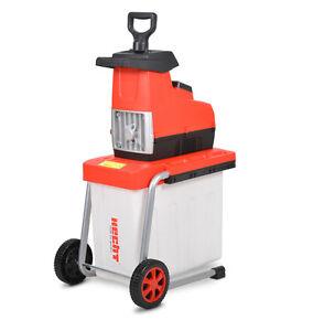 Hecht-6285-XL-Elektro-Gartenhaecksler-Walzenhaecksler-Schredder-Kompostierer-2800W