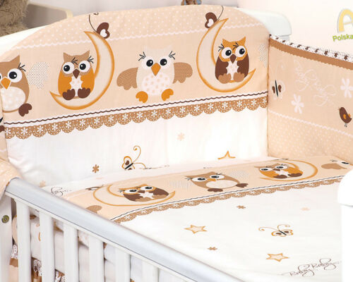 more BROWN TEDDY BABY BEDDING SET COT OR COT BED COVERS BUMPER CANOPY BLANKET