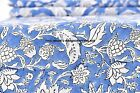 5 Yard Fabric Handmade Natural Floral Ethnic Hand Block Print 100% Cotton Indian