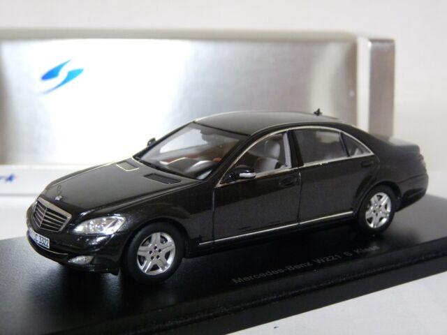 Spark S1063 1/43 Mercedes-Benz S500 W221 Resin Model Car