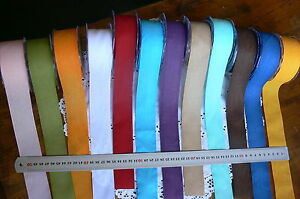 Faux-Linen-Soft-Ribbon-38mm-Wide-3-Metre-Lengths-12-Colour-Choice-May-Arts-CRD1