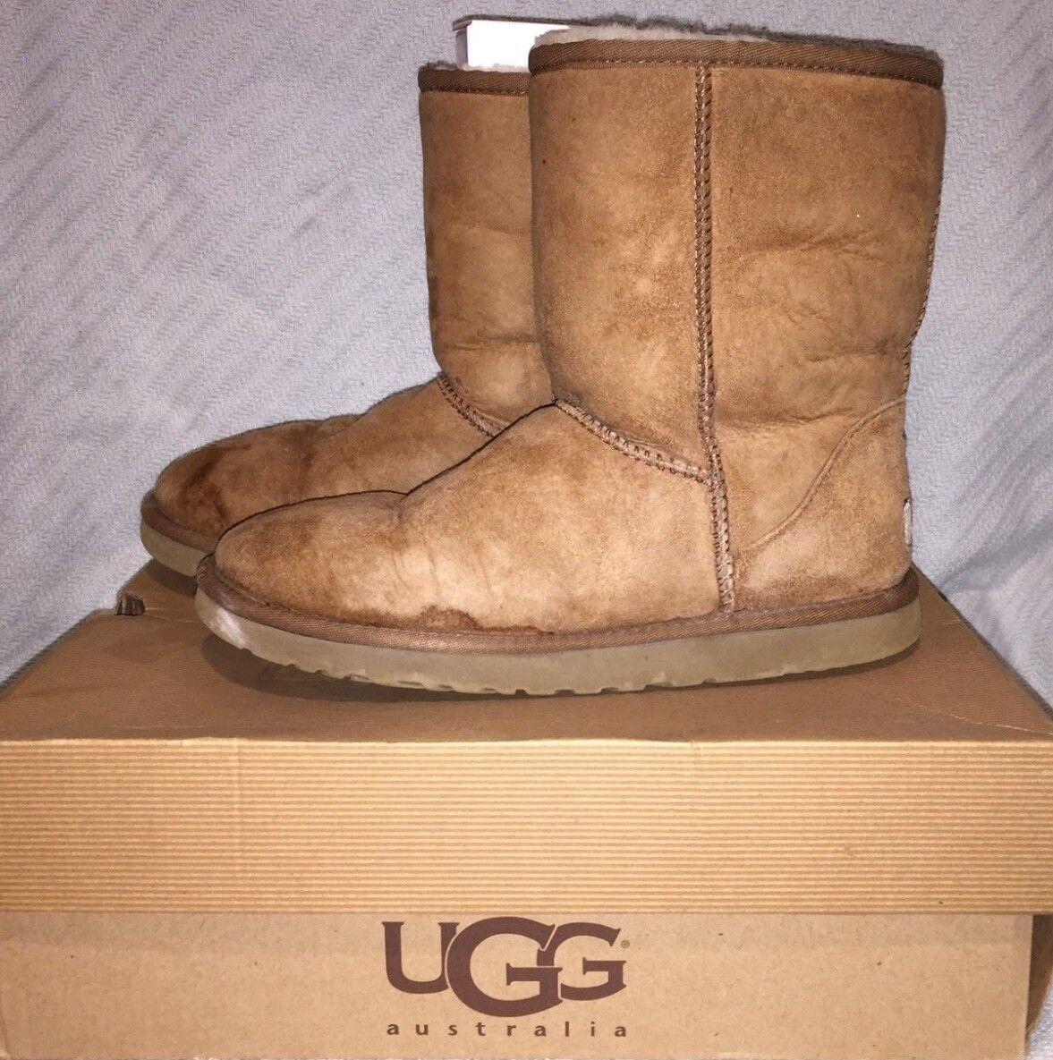 b08a7623d05 Women UGG Australia Classic Short Boot 5825 Chestnut 100 Authentic 7
